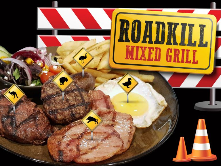 RedBrick Roadkill Mixed Grill